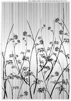 Screentone kimono flower 3 by bakenekogirl
