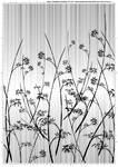 Screentone kimono flower 3