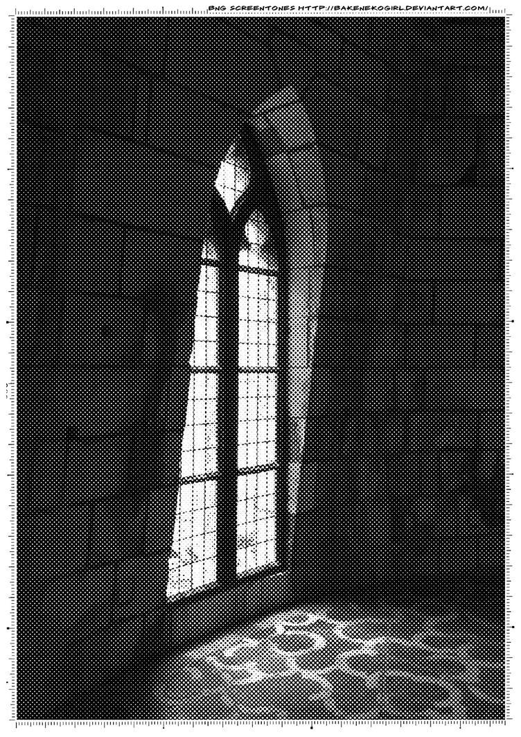 Screentone old window 2 by bakenekogirl