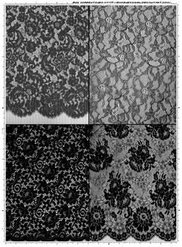 Screentones Laces 5 by bakenekogirl