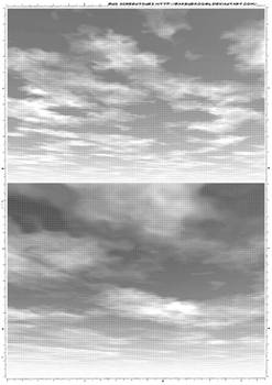 Screentones sky 1