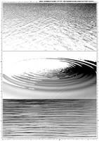 Screentones Water 1 by bakenekogirl