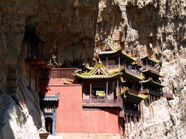 Hanging Temple  - face  4