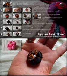 Japanese Fabric Flower