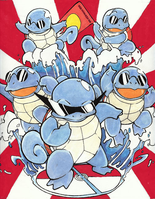 Squirtle squad by SMcInvale