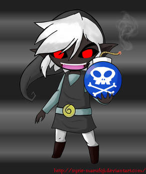 LoZ: Dark Toon Link