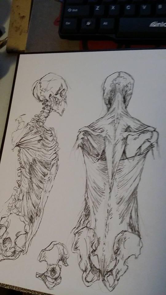 sketchbook by GraveyardBat