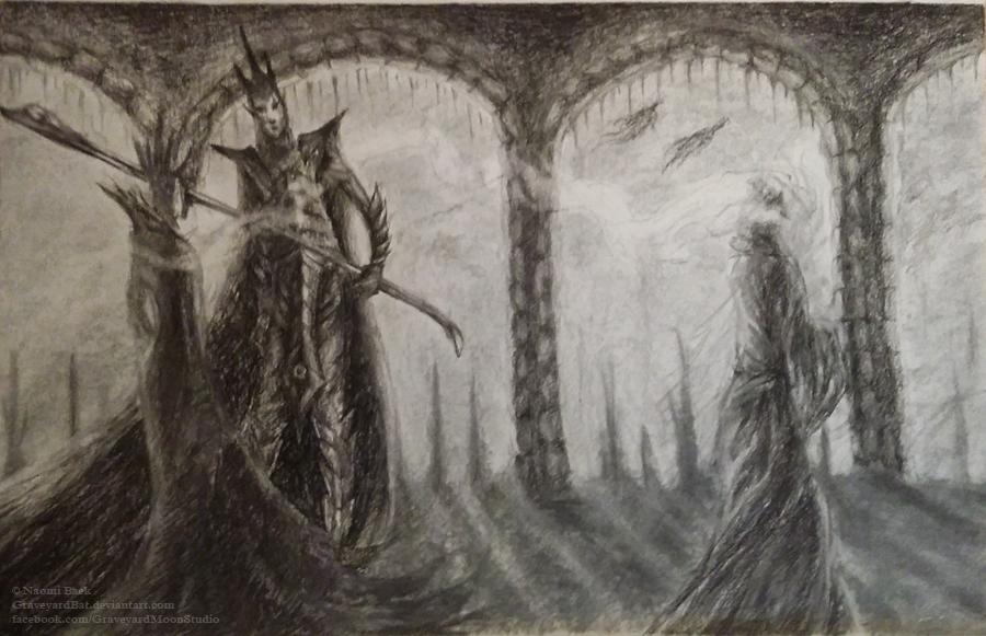 Gossiping Nobles by GraveyardBat