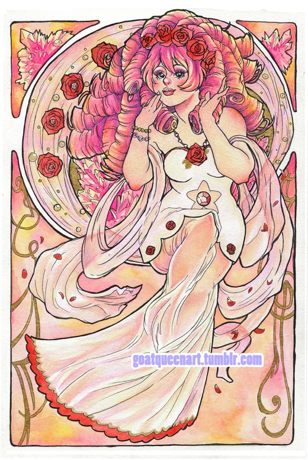 Rose Quartz by GoatQueen