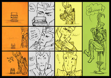 76: Loki the Nutella King by Hosio
