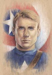 Captain America by Hosio