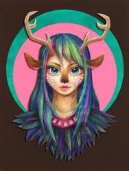 Deer Dollfie by Hosio