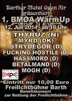 MOGH @ BMOA-Warm Up Benefiz-Konzert