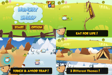 Hungry and Sheep Release! [App store]