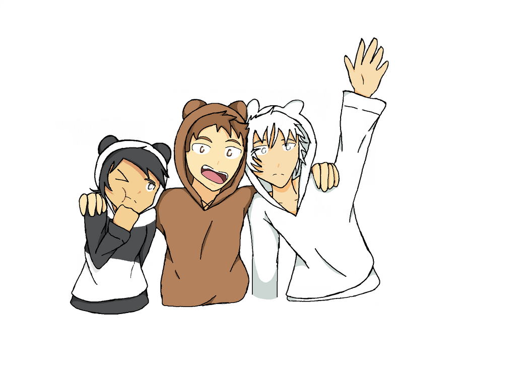 We Bare Bear Humans by Wolfpuprios on DeviantArt
