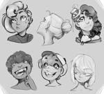 Sketchbook sketches- digital edition