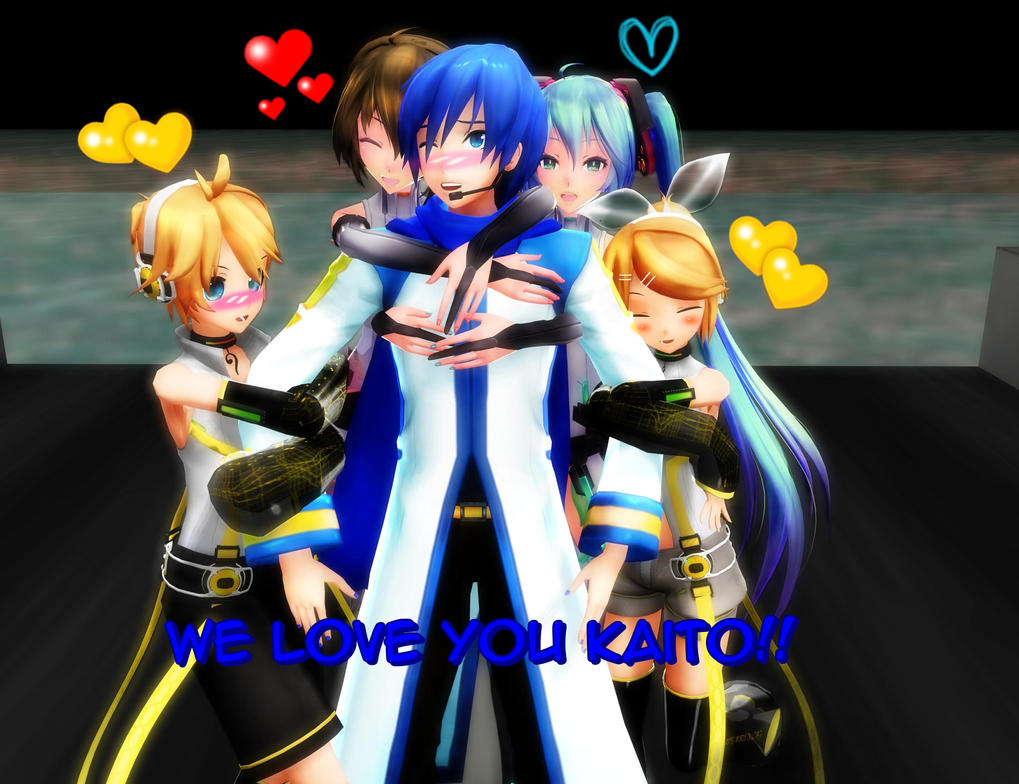 We love you Kaito! by AnimeLuvr15