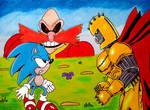 Sonic vs Commander Brutus