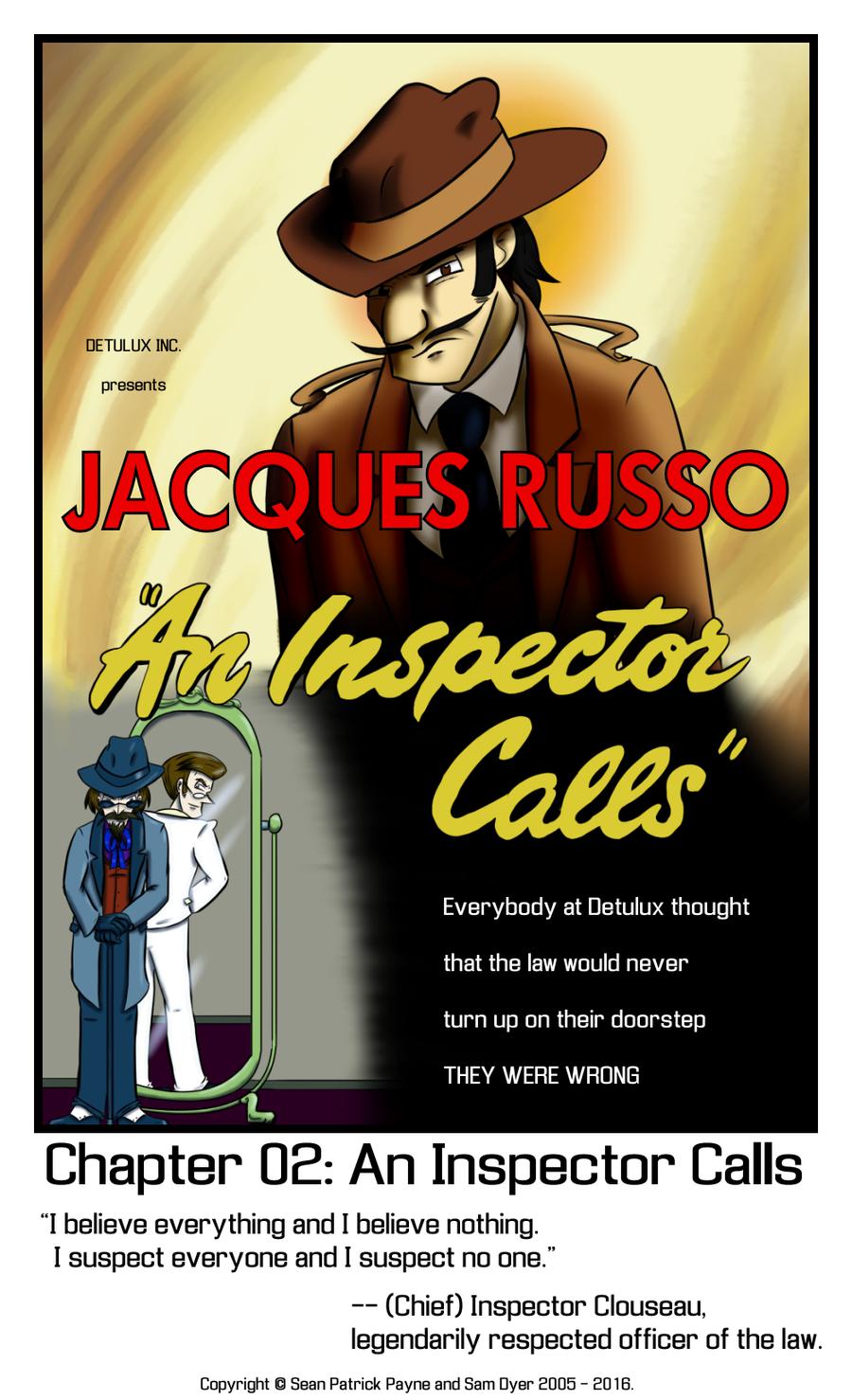 Detulux Chapter 2: An Inspector Calls by Psi-Baka-Onna