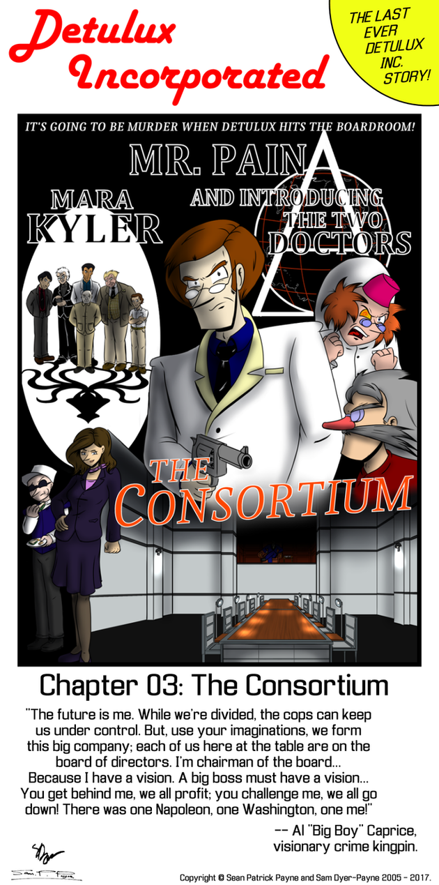 Detulux Chapter 3: The Consortium by Psi-Baka-Onna