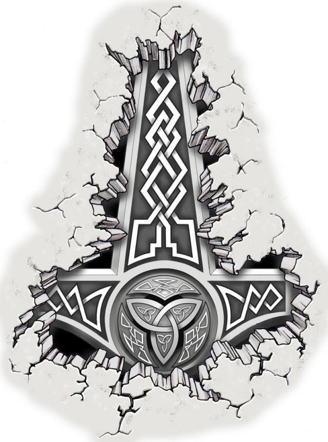 thor s hammer by mmbretweir on deviantart