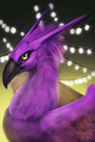 Purple Phoenix by BlindCoyote