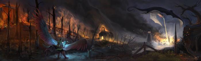 Dragon Rush by BlindCoyote