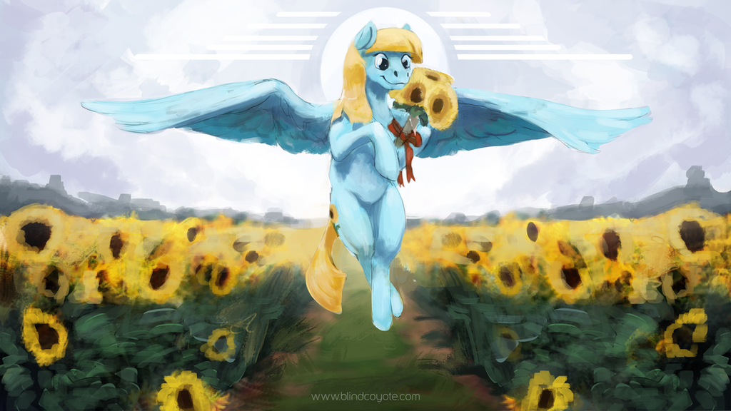 Sunflowers by BlindCoyote