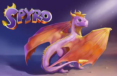 Spyro by BlindCoyote