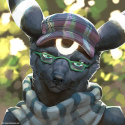 Umbreon Avatar by BlindCoyote