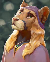 Vandell portrait by BlindCoyote