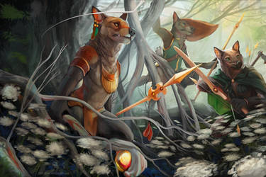Forest of the Magi by BlindCoyote