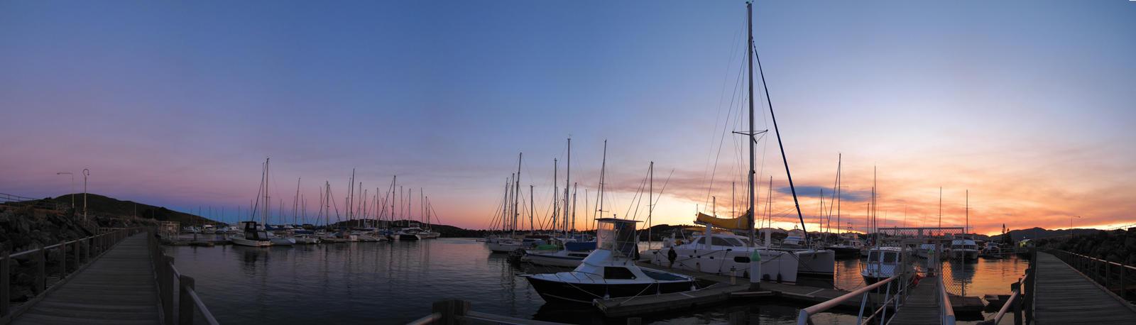 Coffs Harbour Marina by polkovniknades