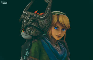 Hyrule Warriors- Midna and Link