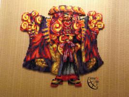 Yojimbo Perler Beads Final ! by Cimenord