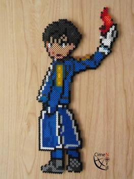 Roy Mustang Pokemon Trainer Perler Beads