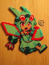 Flygon Moemon Perler Beads