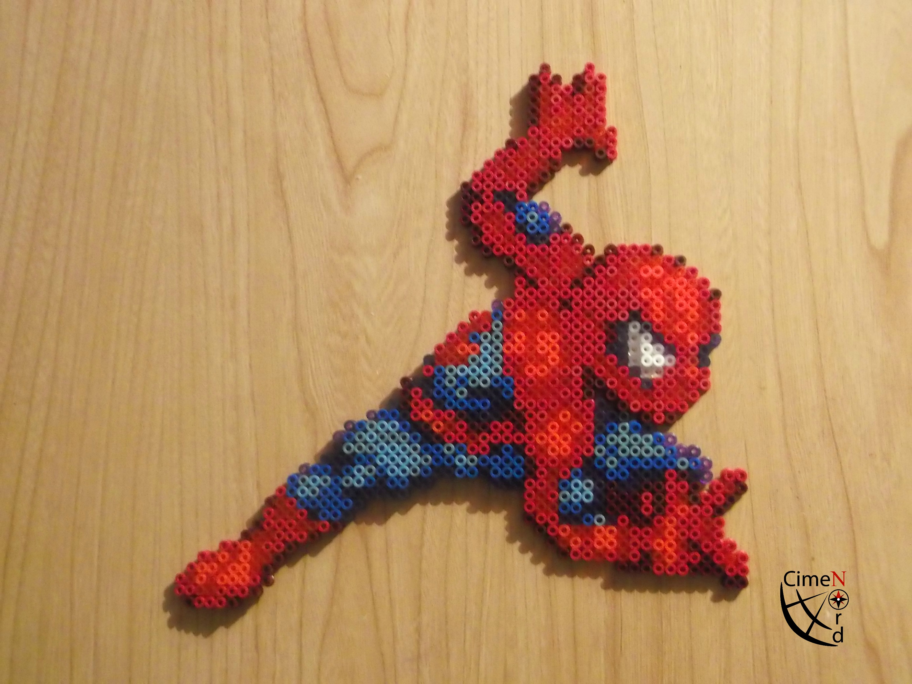Hama Beads Spiderman: Spiderman CSW Perler Beads By Cimenord On DeviantArt