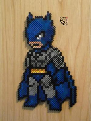 Batman Perler Beads by Cimenord
