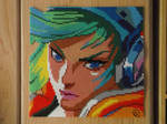 Arcade Riven Portrait/ Hama beads