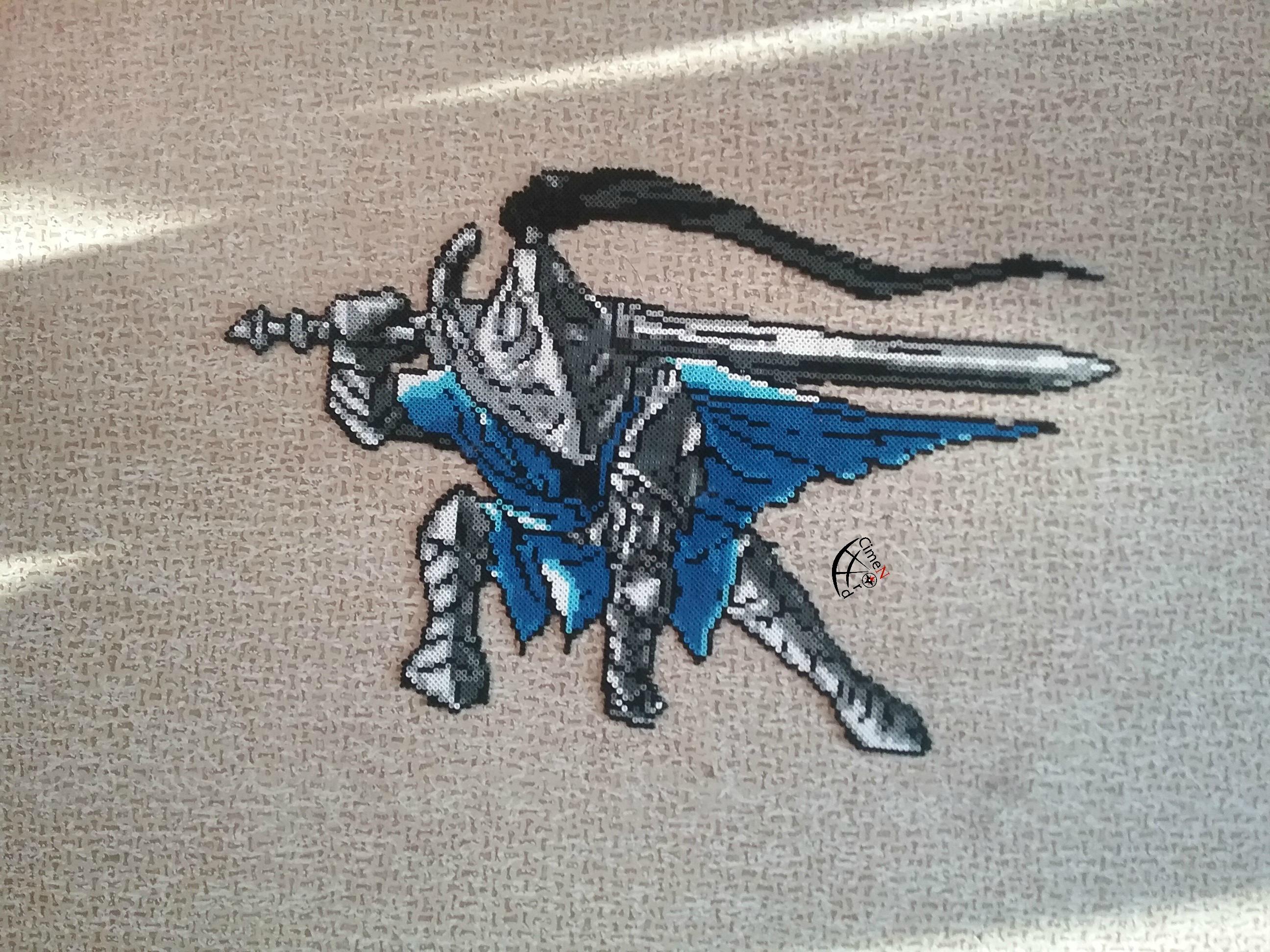 Artorias Dark Souls 1- Pixel Art