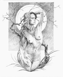 Amber Sapling by lucius-phoenix