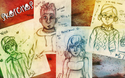 Bocetos :D by Givalita
