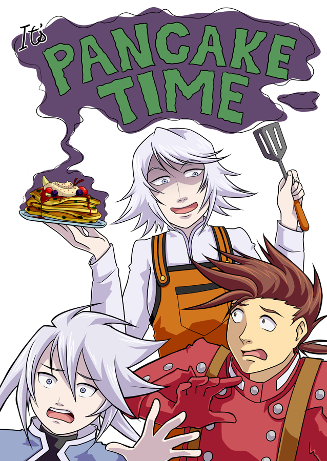 IT'S PANCAKE TIME by Quatrina