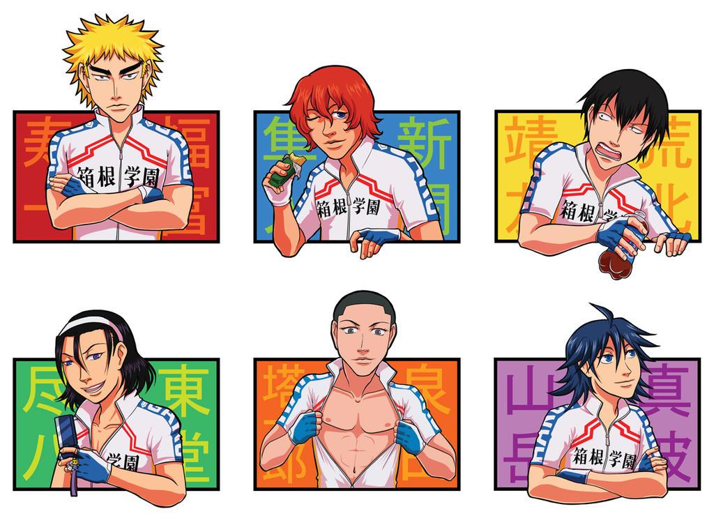 Hakogaku Stickers by Quatrina