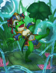 Ribby The Magical Frog