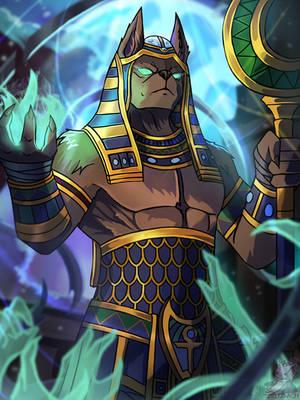 [Smite] Anubis by Zeitzbach