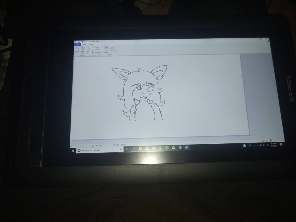 My new Drawing Tablet by Thazkid