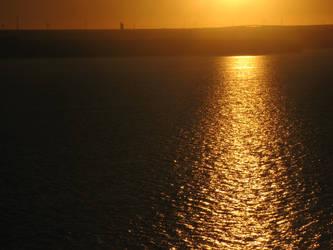Sunset On Siutghiol by blackskull18