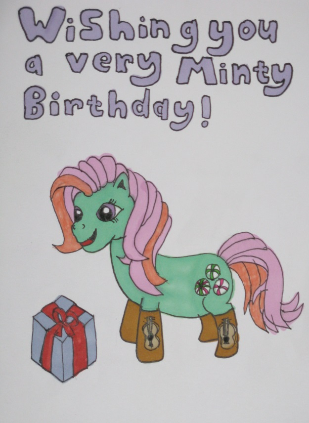 A very Minty Birthday by IronBrony